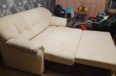 Перетяжка дивана фото 43