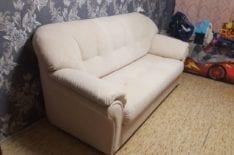 Перетяжка дивана фото 42
