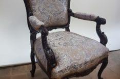 Реставрация кресла фото 17