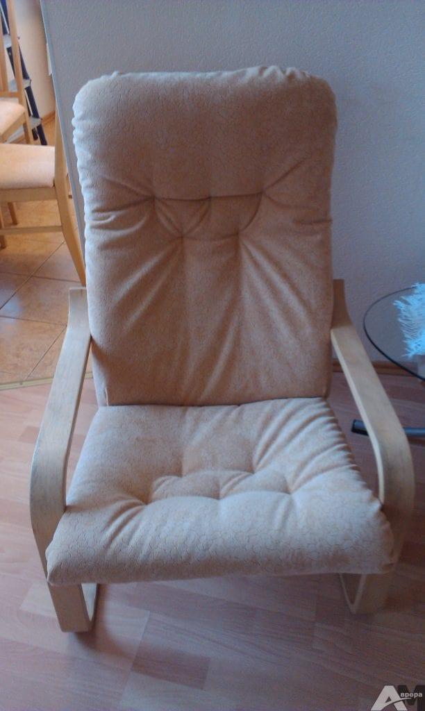 перетяжка кресла поэнг икеа