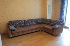 угловой диван перетяжка