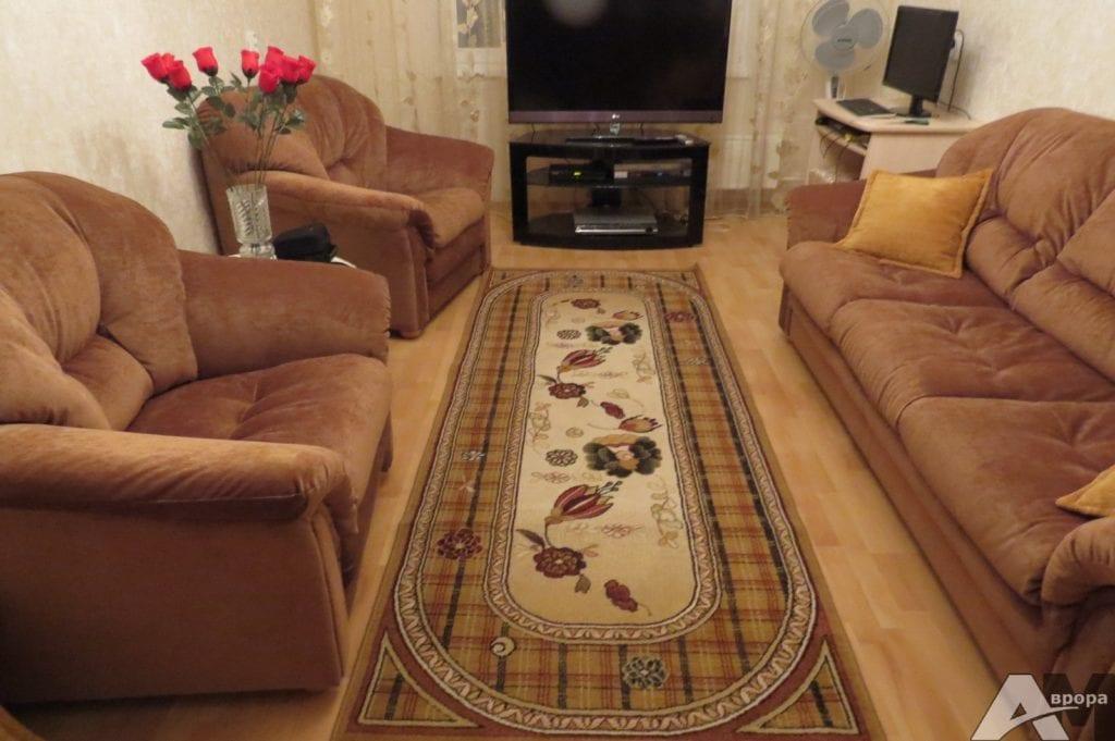 перетяжка комплекта мебели фото 2