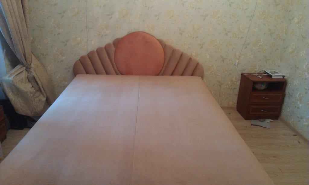 изготовление изголовья для кровати фото 2