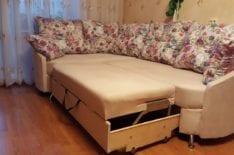 Угловой диван после ремонта фото 2