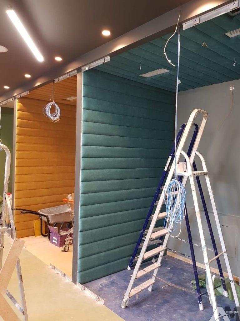 Мягкие стеновые панели фото 29