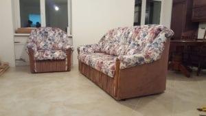 Перетяжка дивана и кресла фото 7