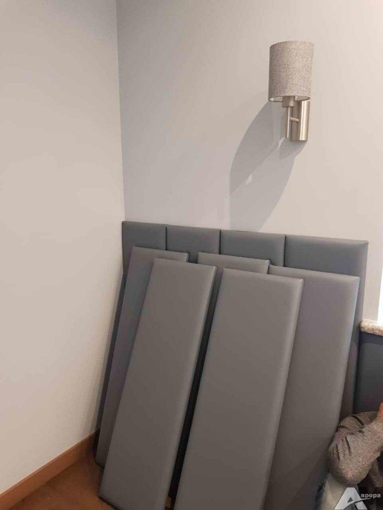 Мягкие стеновые панели фото 39