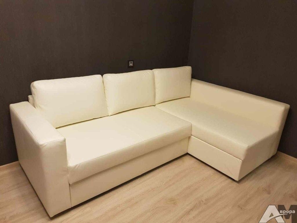Перетяжка углового дивана фото 58