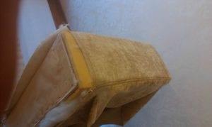 обивка спинки мебели