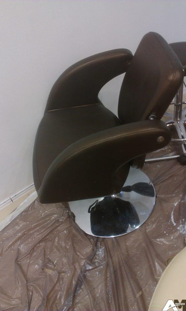 перетяжка парикмахерского кресла фото 5