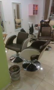 перетяжка парикмахерского кресла фото 6
