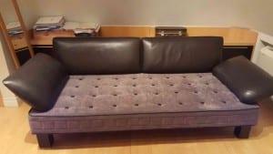 перетяжка дивана спб
