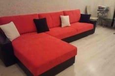 перетяжка углового дивана фото 4