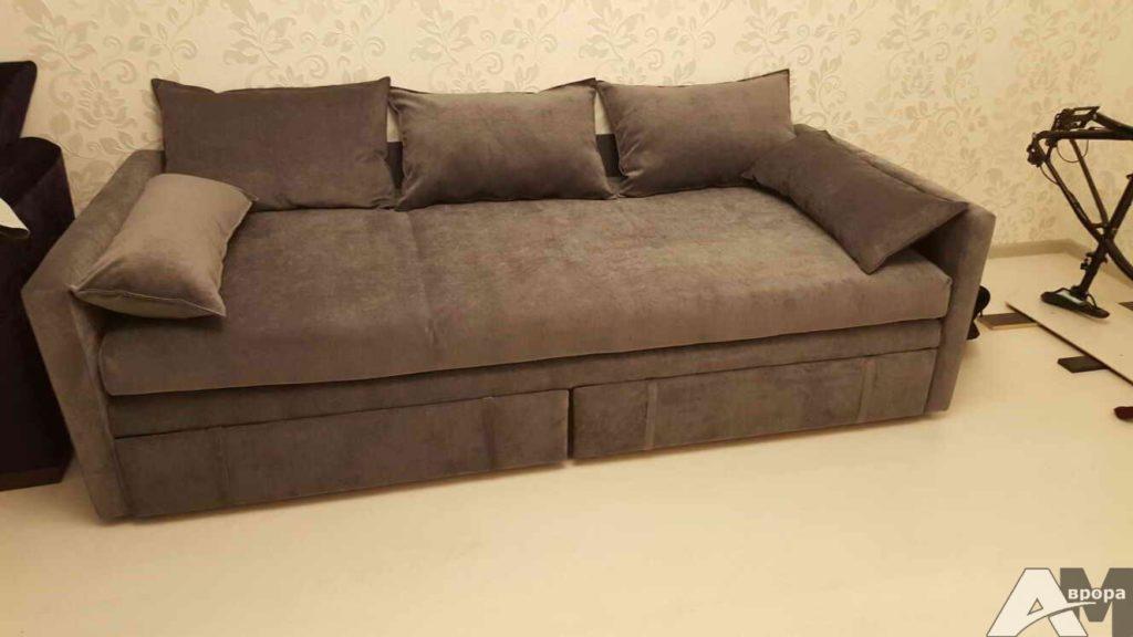 Обивка дивана велюром СПб
