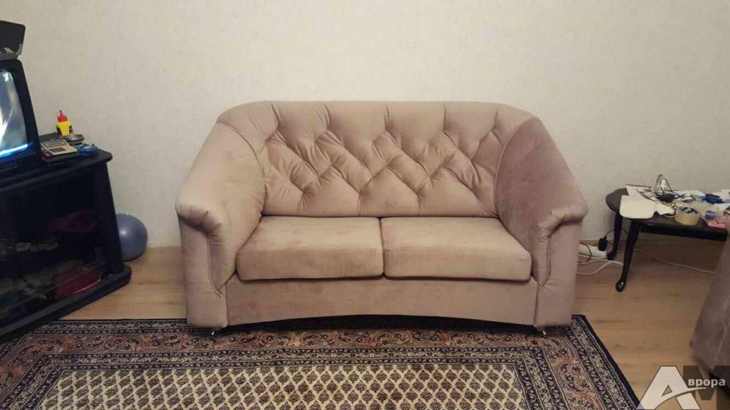 Перетяжка 2-местного дивана СПб