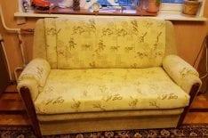 Обивка дивана флок