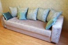 Обивка диванов велюр