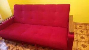 Ремонт и перетяжка старого дивана