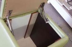 Механизм открывания пуфика