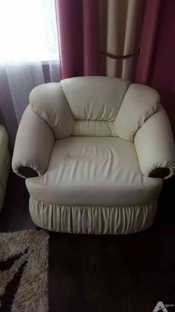 обивка кресла кожей фото 1