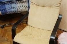 Обивка кресла поэнг