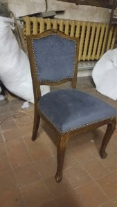 Перетяжка стула фото 3