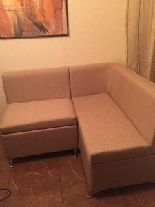 Обивка углового дивана фото 19