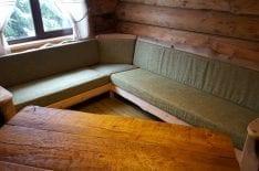 Обивка большого углового дивана