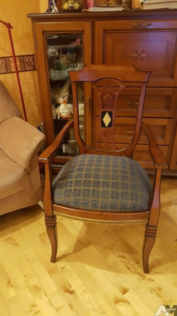 Обивка стула фото 8