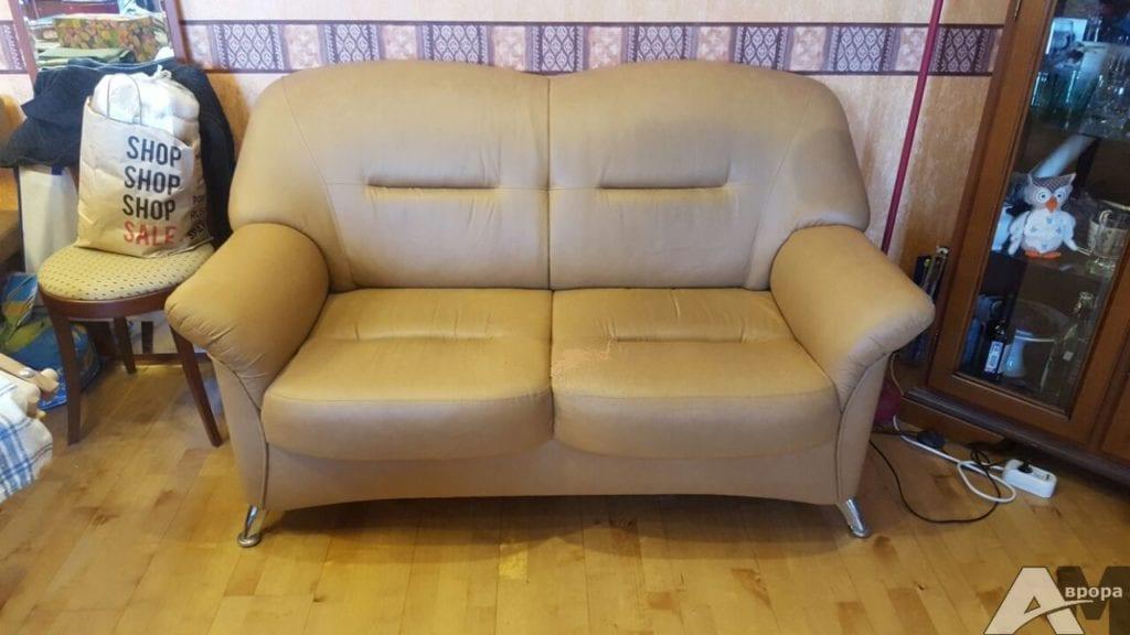 перетяжка дивана фото 5 до