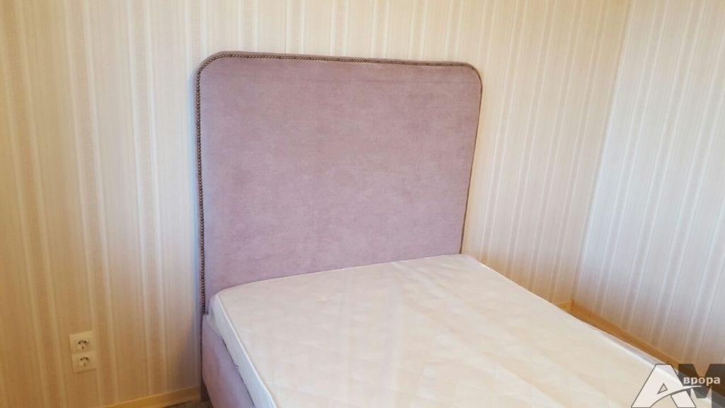 изголовье кровати обивка флоком