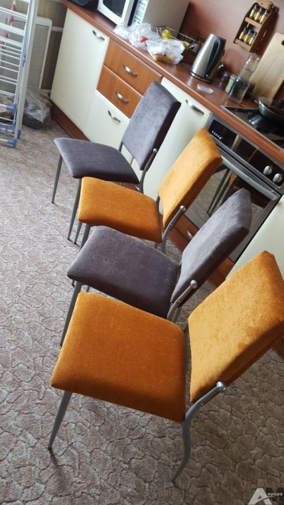 перетяжка стульев фото4