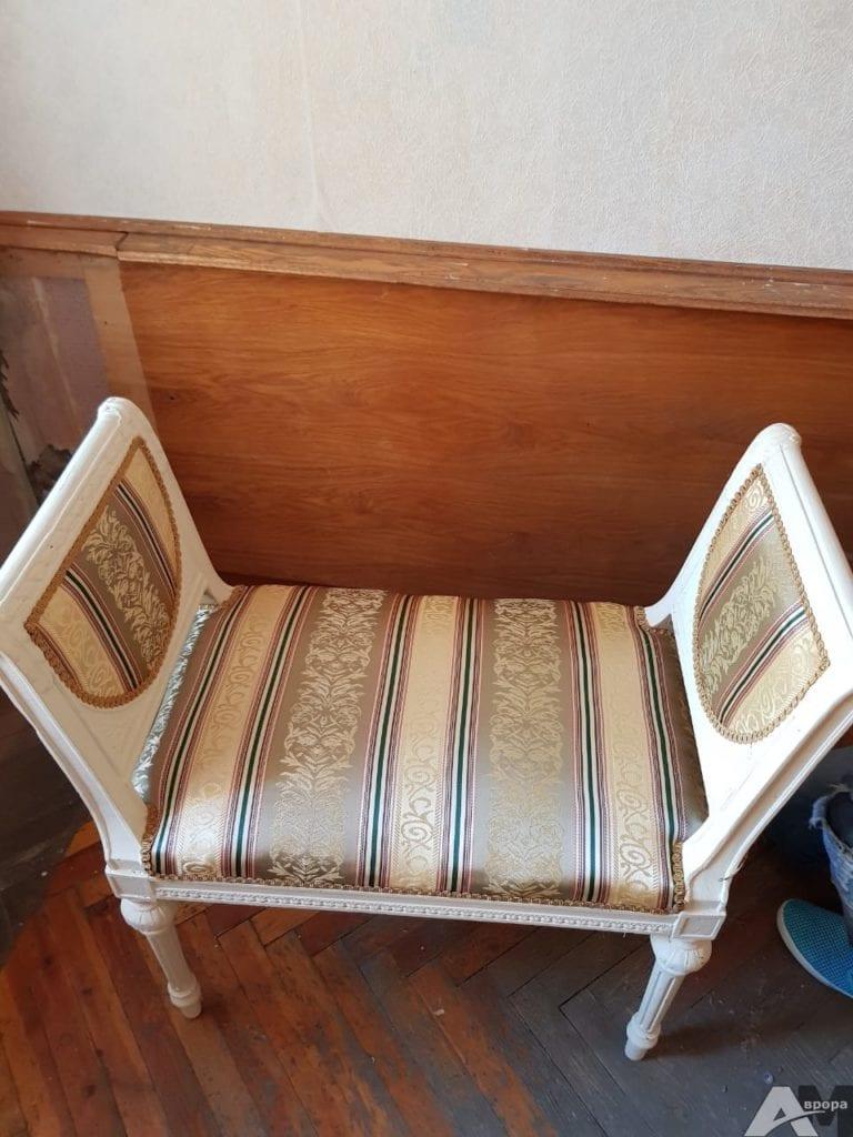 Реставрация старинного стула фото 6