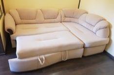 Перетяжка углового дивана фото 56