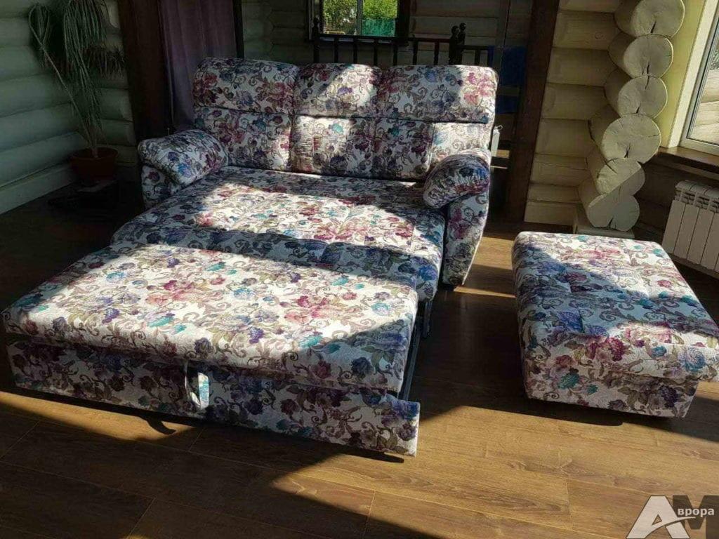 Перетяжка мягкой мебели фото 49