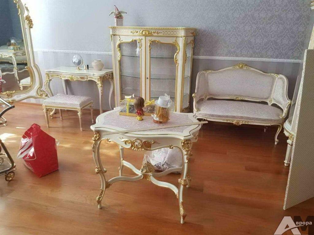 Перетяжка старинной мебели фото 6