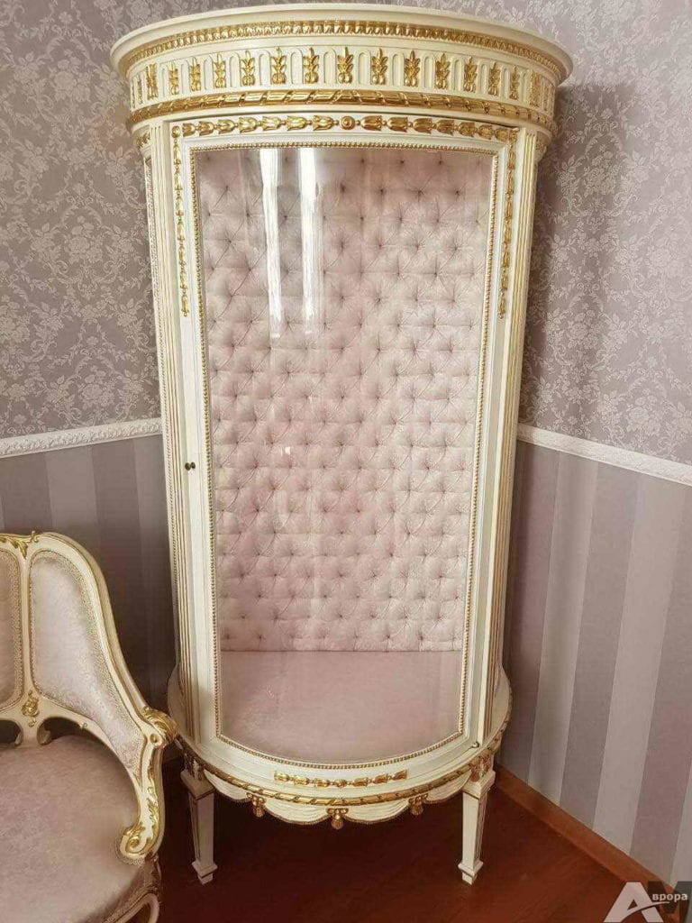 Перетяжка старинной мебели фото 28
