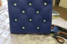 Элемент мягкой стеновой панели фото 3