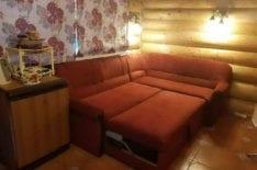 Перетяжка углового дивана фото 57