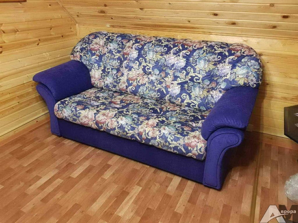 Перетяжка дивана фото 71