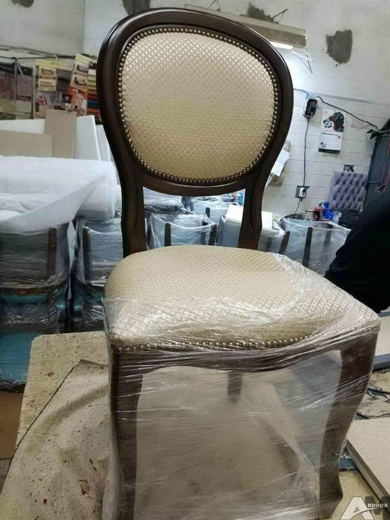 Перетяжка стула фото 34