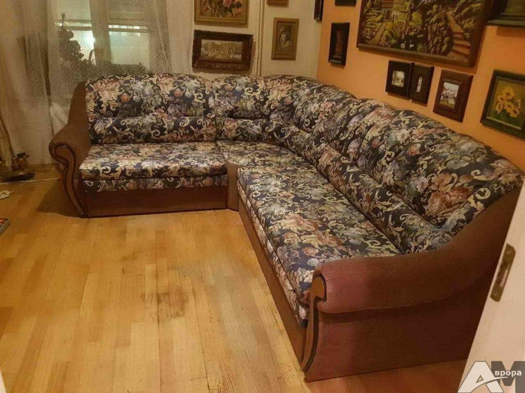 Перетяжка углового дивана фото 48