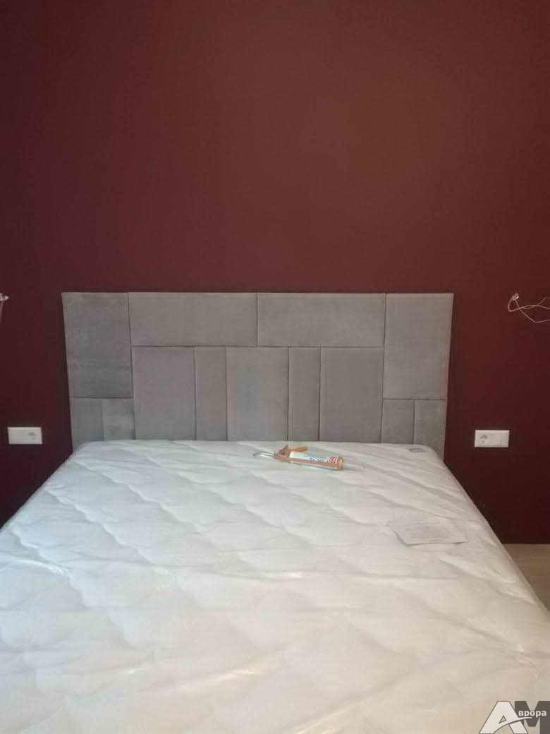Изготовление изголовья для кровати фото 69