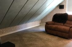 Обивка потолка тканью фото 1