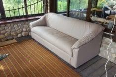 перетяжка дивана фото 25
