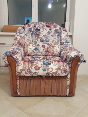 Перетяжка кресла фото 37